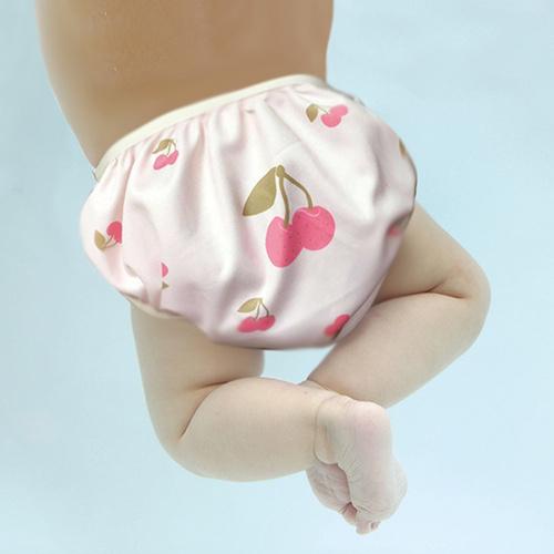 英國Swimava|S1櫻桃嬰兒游泳褲-L號