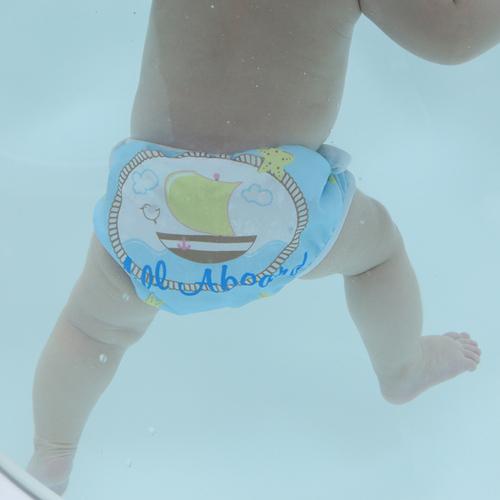 英國Swimava|S1小船嬰兒游泳褲-L號