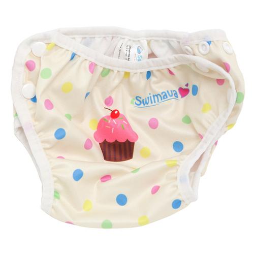 英國Swimava|S1雪糕嬰兒游泳褲-L號