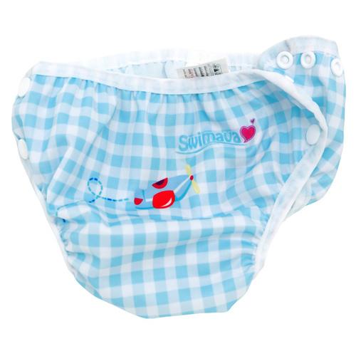 英國Swimava|S1火車嬰兒游泳褲-L號