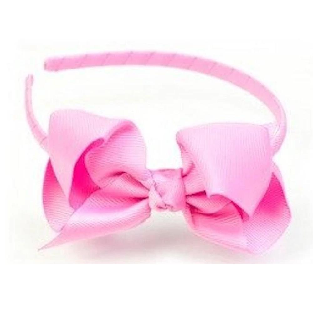 Ribbies|蝴蝶結髮圈-粉紅
