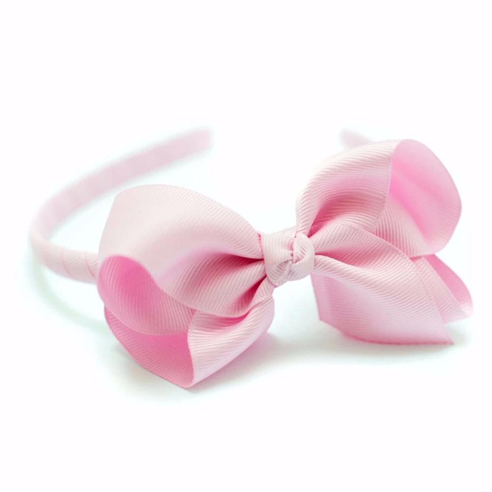Ribbies|蝴蝶結髮圈-鬱金香粉