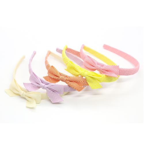 Ribbies|雪弗蘭蝴蝶結髮圈-粉紅