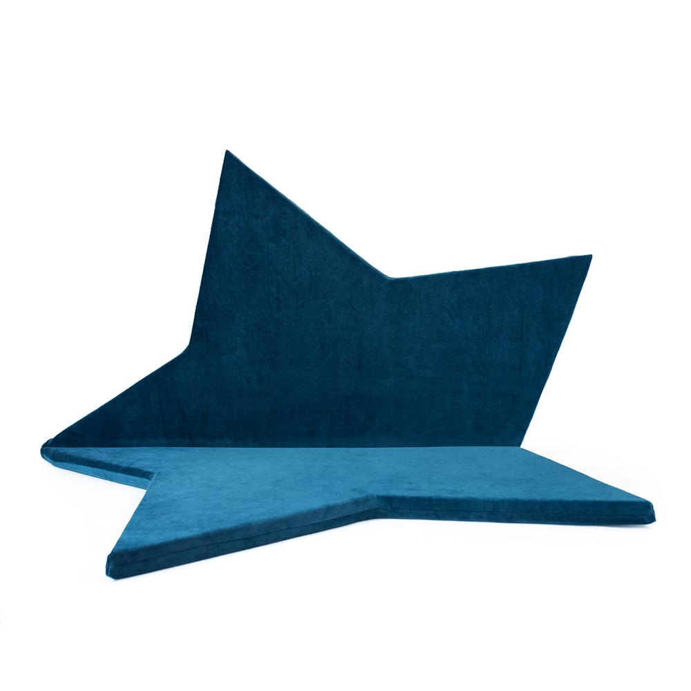 波蘭Misioo 多功能遊戲地墊-深藍星星