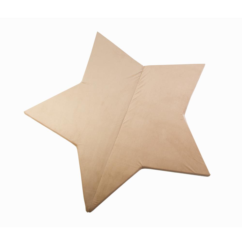 波蘭Misioo|多功能遊戲地墊-粉紅星星