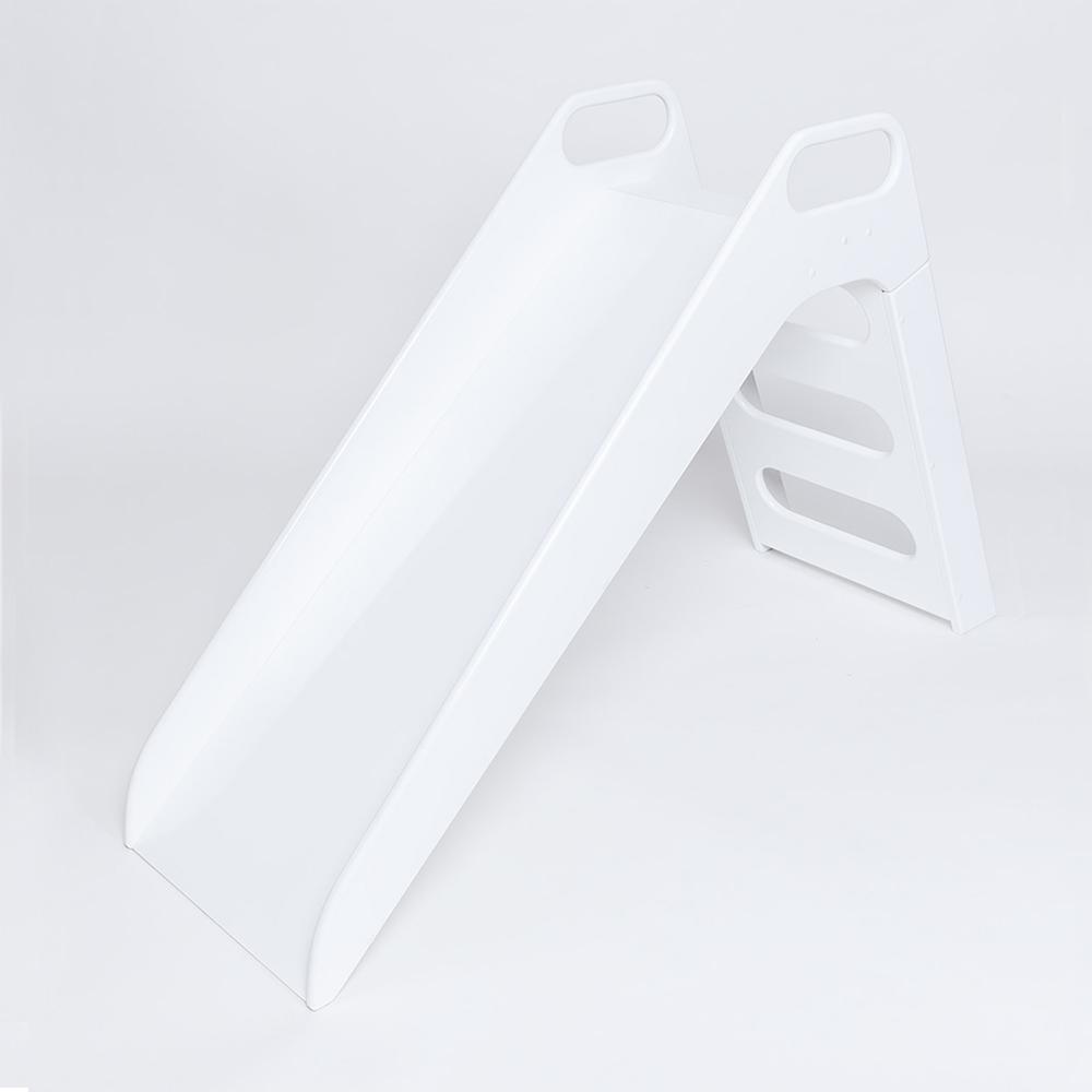 波蘭Misioo|高級木製溜滑梯-簡潔白