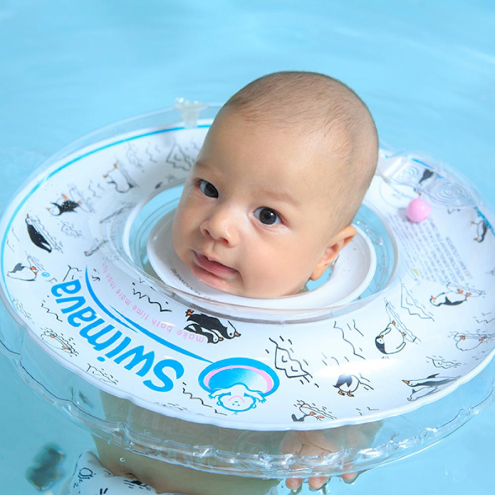 英國Swimava|G1企鵝嬰兒游泳脖圈-標準尺寸