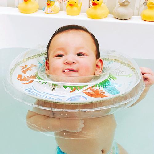 英國Swimava|G1恐龍嬰兒游泳脖圈-標準尺寸