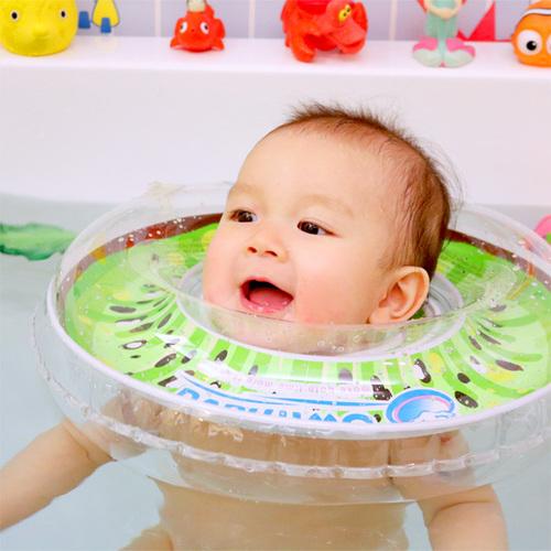英國Swimava|G1奇異果嬰兒游泳脖圈-標準尺寸