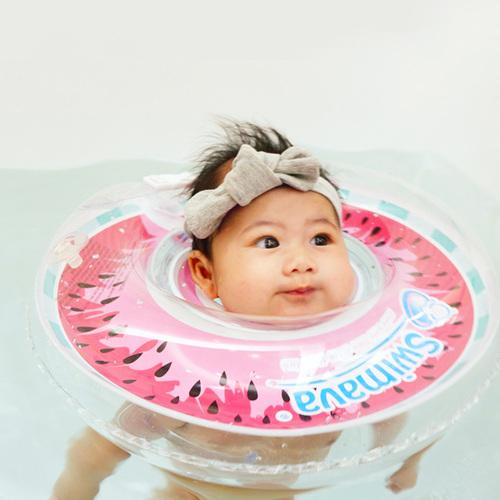 英國Swimava G1西瓜嬰兒游泳脖圈-標準尺寸