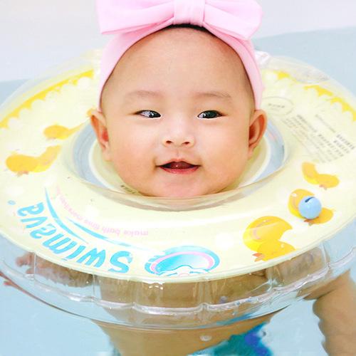 英國Swimava|G1小黃鴨嬰兒游泳脖圈-標準尺寸