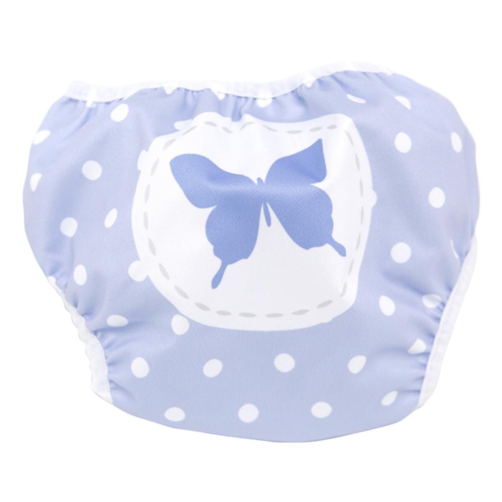 英國Swimava S1紫蝴蝶嬰兒游泳褲-L號