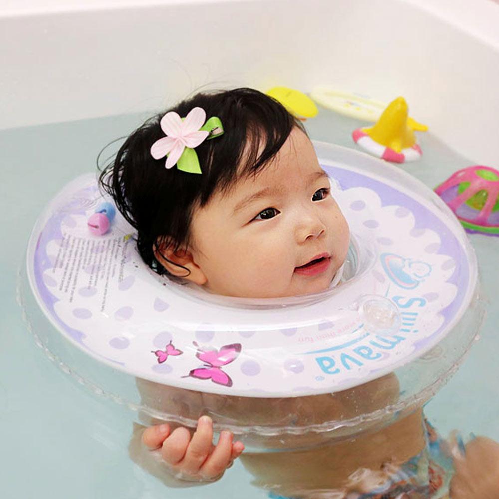 英國Swimava G1 紫蝴蝶嬰兒游泳脖圈-標準尺寸