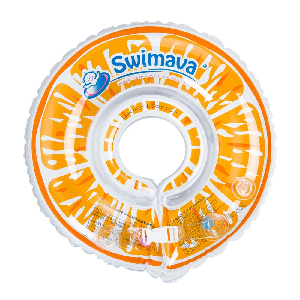 英國Swimava G1 香橙嬰兒游泳脖圈-標準尺寸