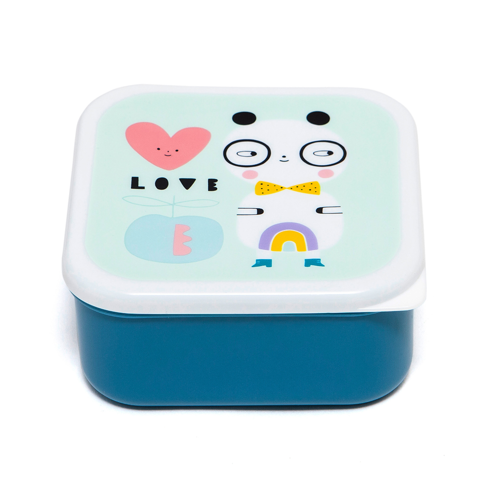 Petit Monkey|零食盒3入組-我愛熊貓