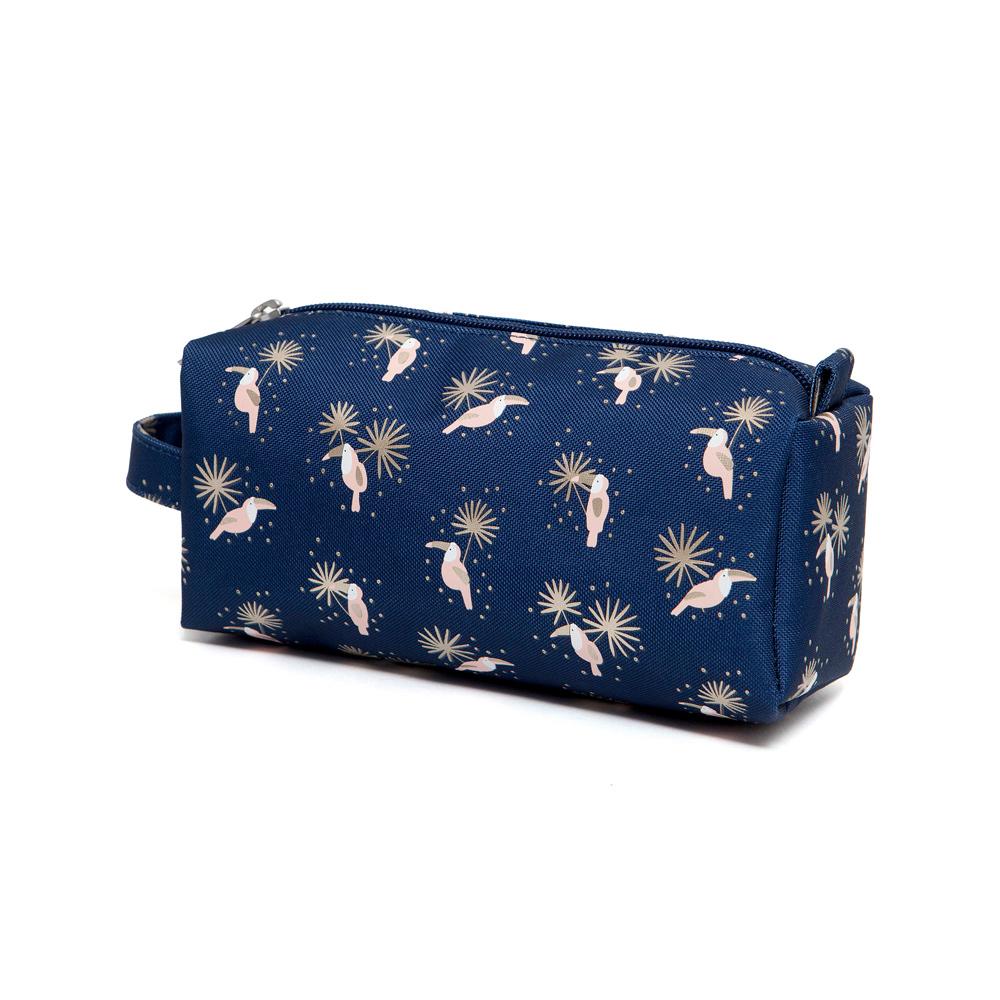 Petit Monkey|環保海軍藍巨嘴鳥筆袋/收納包