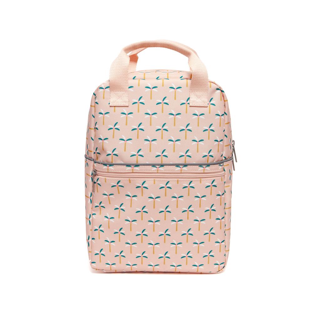 Petit Monkey|環保粉紅棕梠樹小童背包-L號