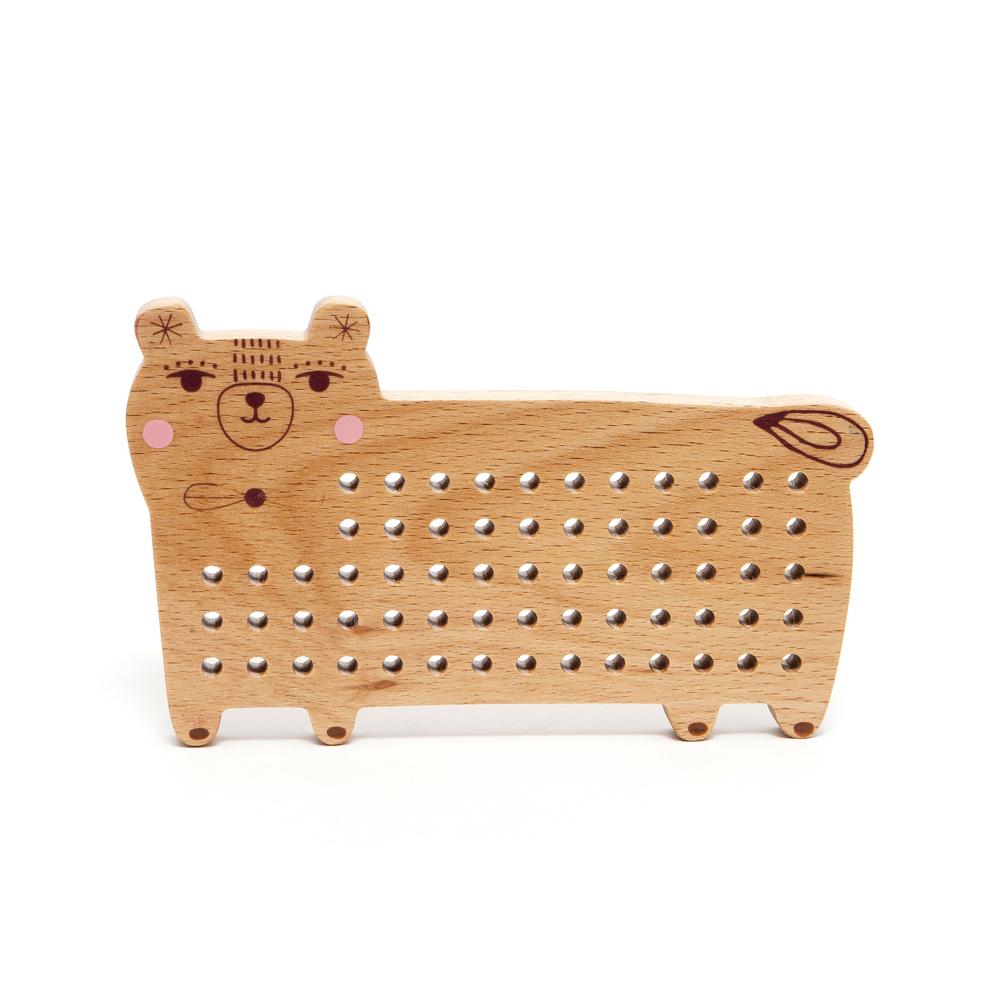 Petit Monkey|經典木玩-小熊穿穿樂(3Y+)