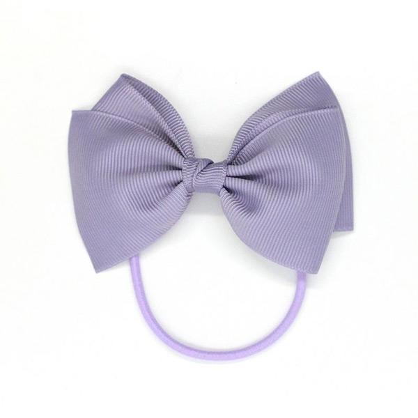 (複製)Ribbies|中蝴蝶結髮束-玫瑰紫