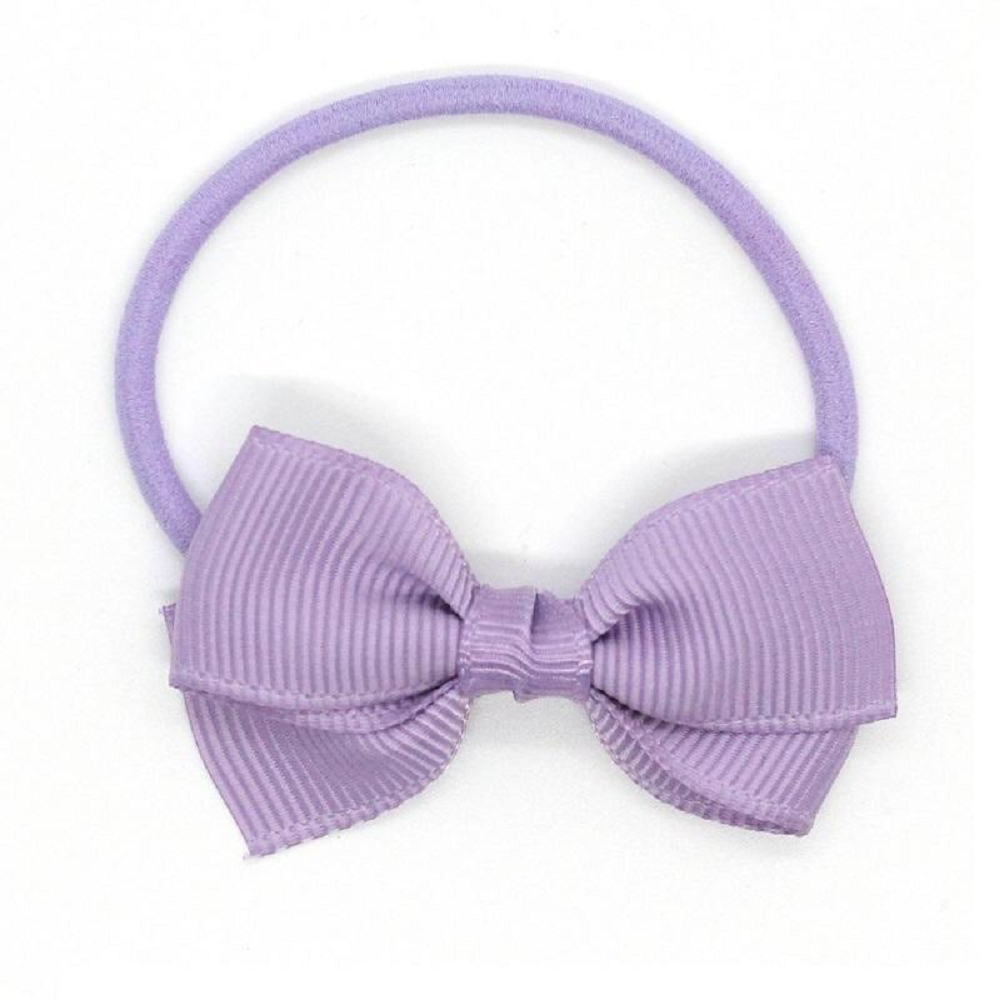 Ribbies|小蝴蝶結髮束-淺粉紫
