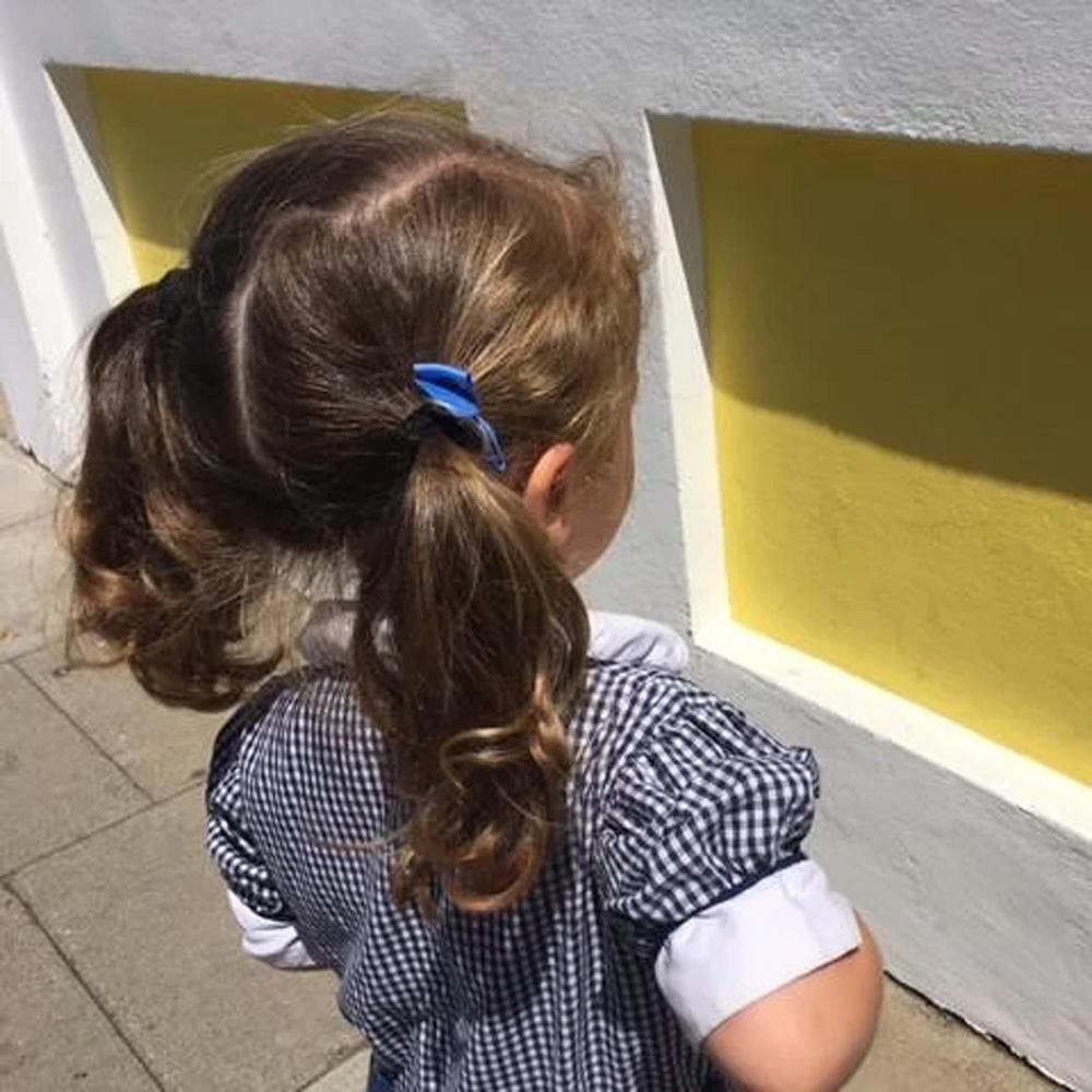 Ribbies|小蝴蝶結髮束-薑黃