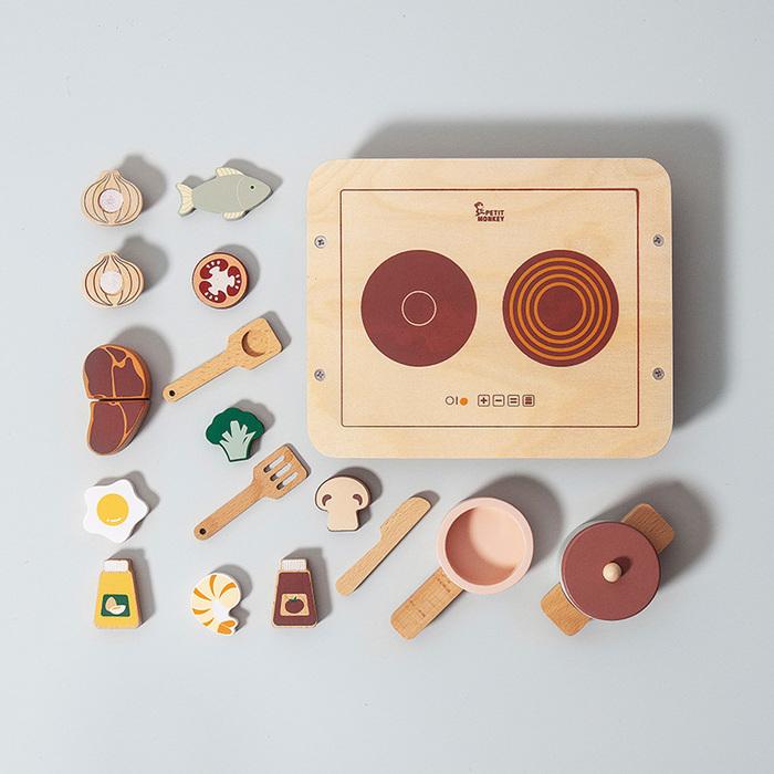 荷蘭Petit Monkey 經典木玩-小小廚師
