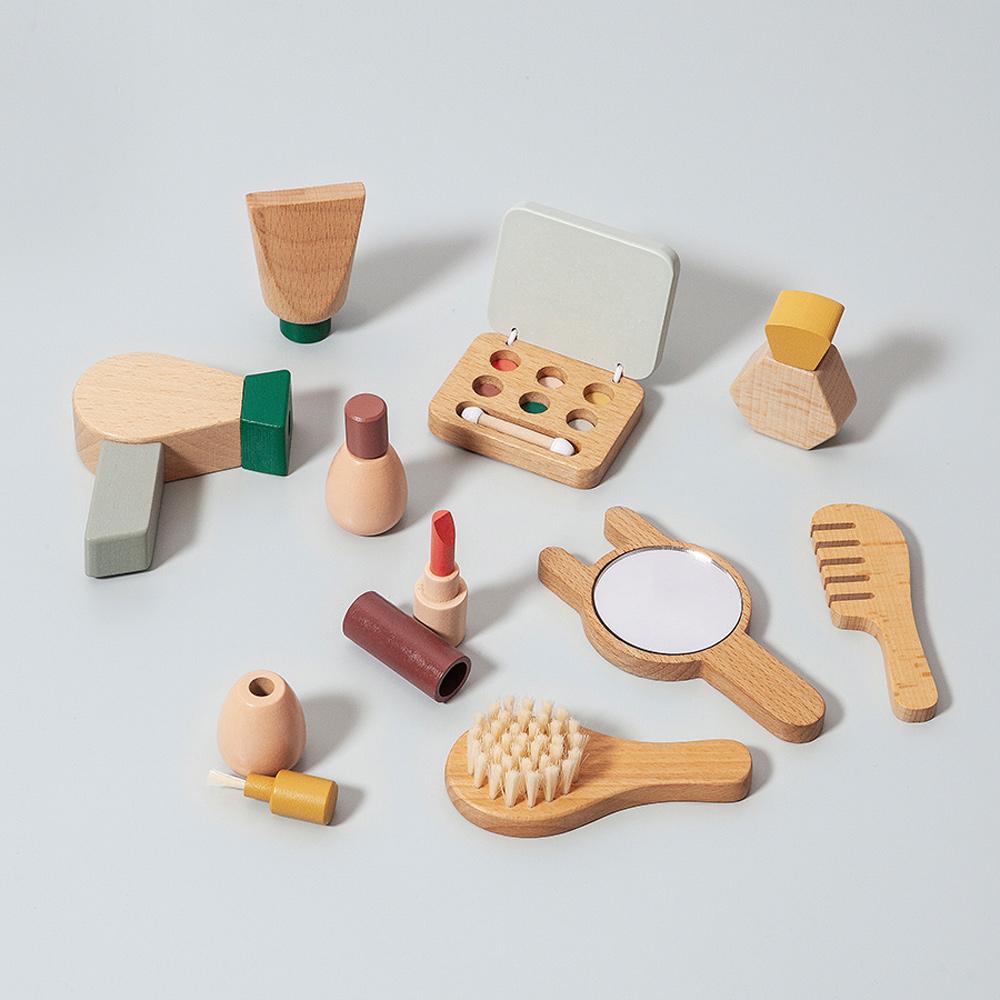 荷蘭Petit Monkey|經典木玩-小小彩妝師