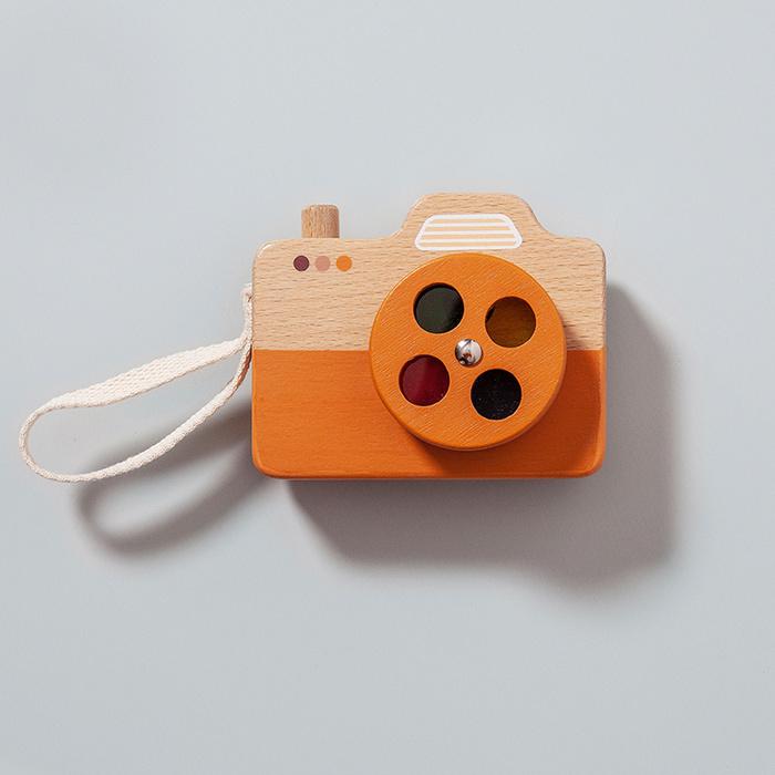 (複製)荷蘭Petit Monkey 經典木玩-薄荷綠相機