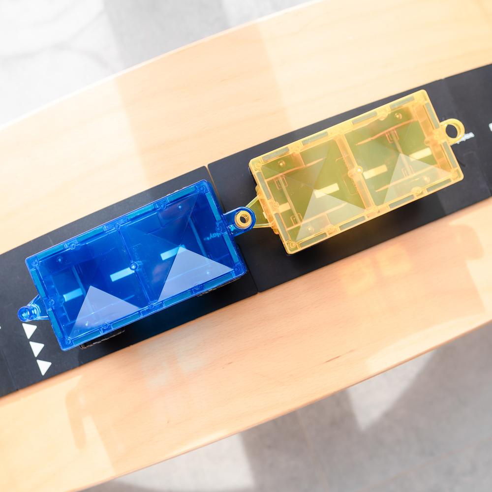 澳洲Connetix|彩虹磁力積木-汽車底板2入組(2pc)