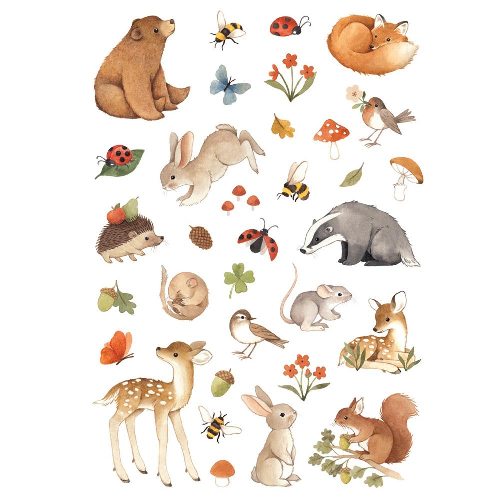 Petit Monkey|童話森林動物紋身貼紙