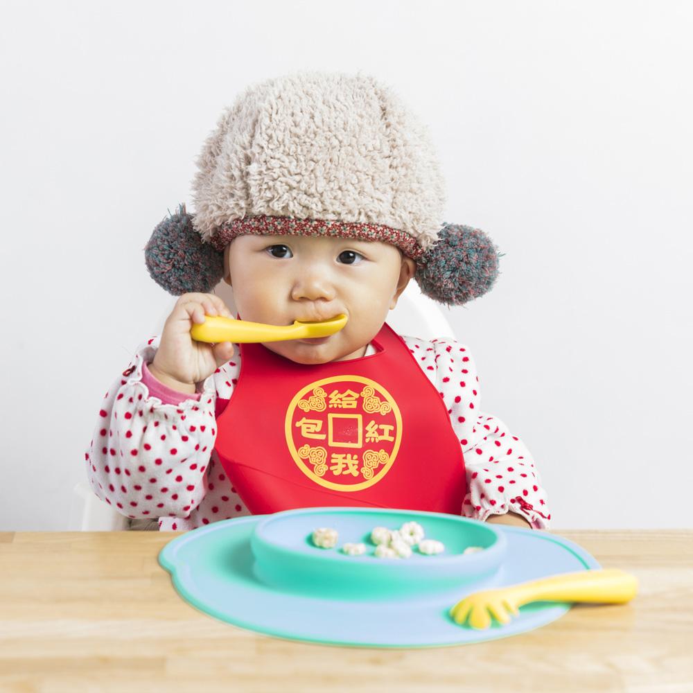 FARANDOLE|嬰幼兒聰明學習餐具組(粉色)