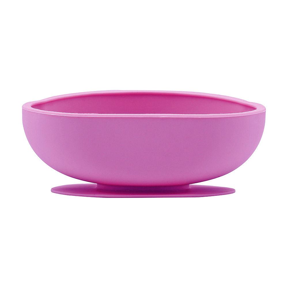 FARANDOLE|防滑矽膠吸盤餐碗-紫色