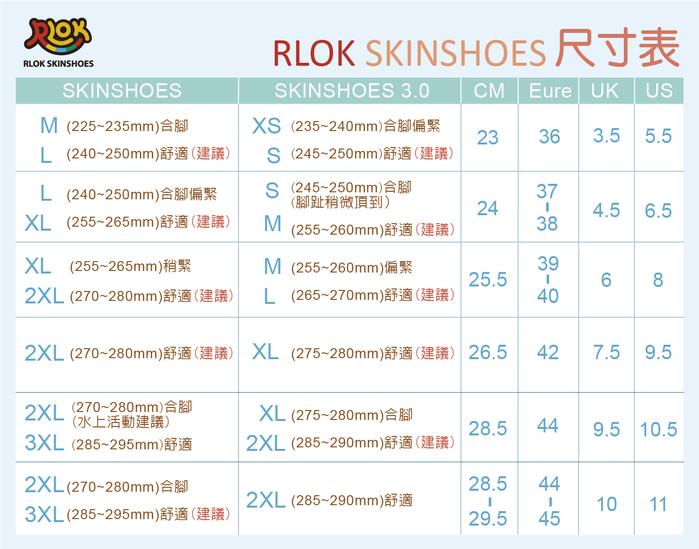 RLOK │SKINSHOES 赤足鞋 萊昂藍
