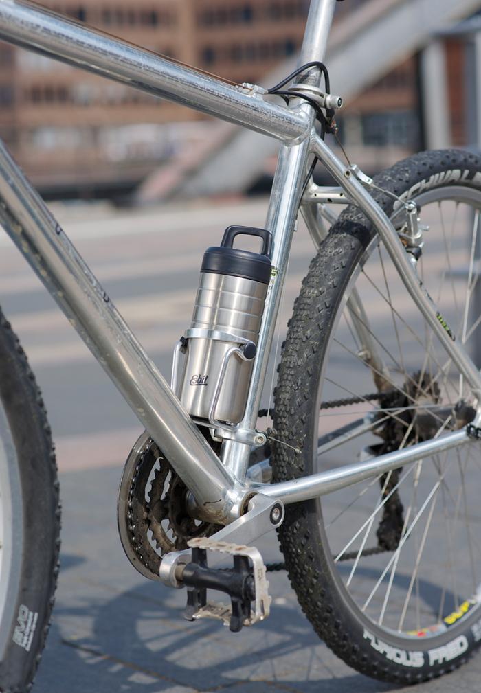 Esbit│鋼硬系列 廣口真空瓶 450ml 蔚藍薄荷