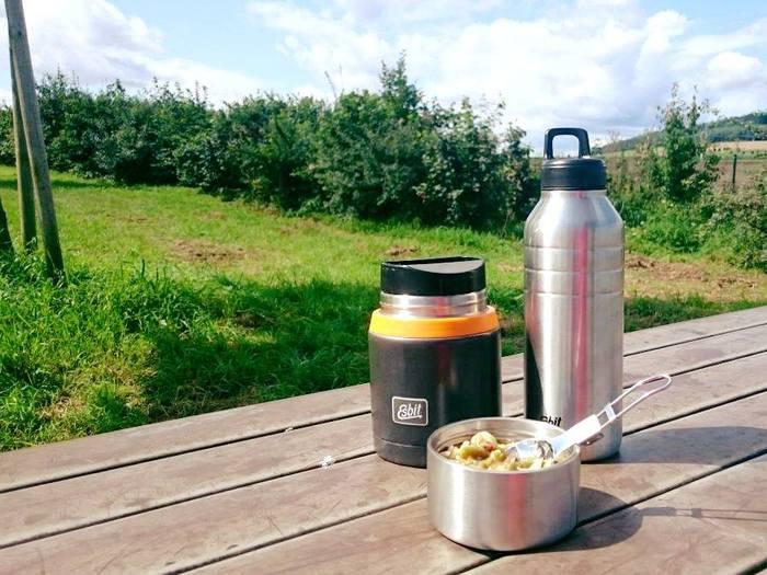 (複製)Esbit│不鏽鋼 真空食物保鮮罐 750ml 黑