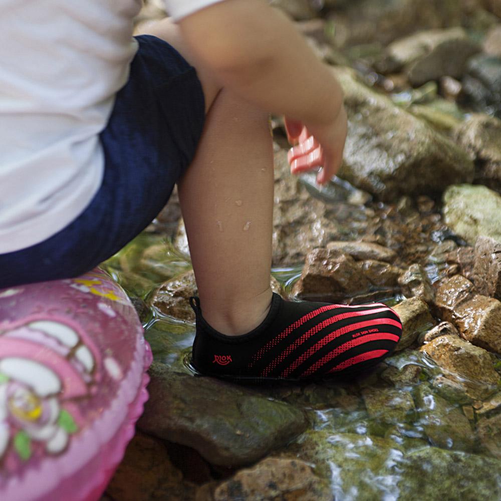 RLOK │SKINSHOES KIDS 兒童赤足鞋 萊昂紅