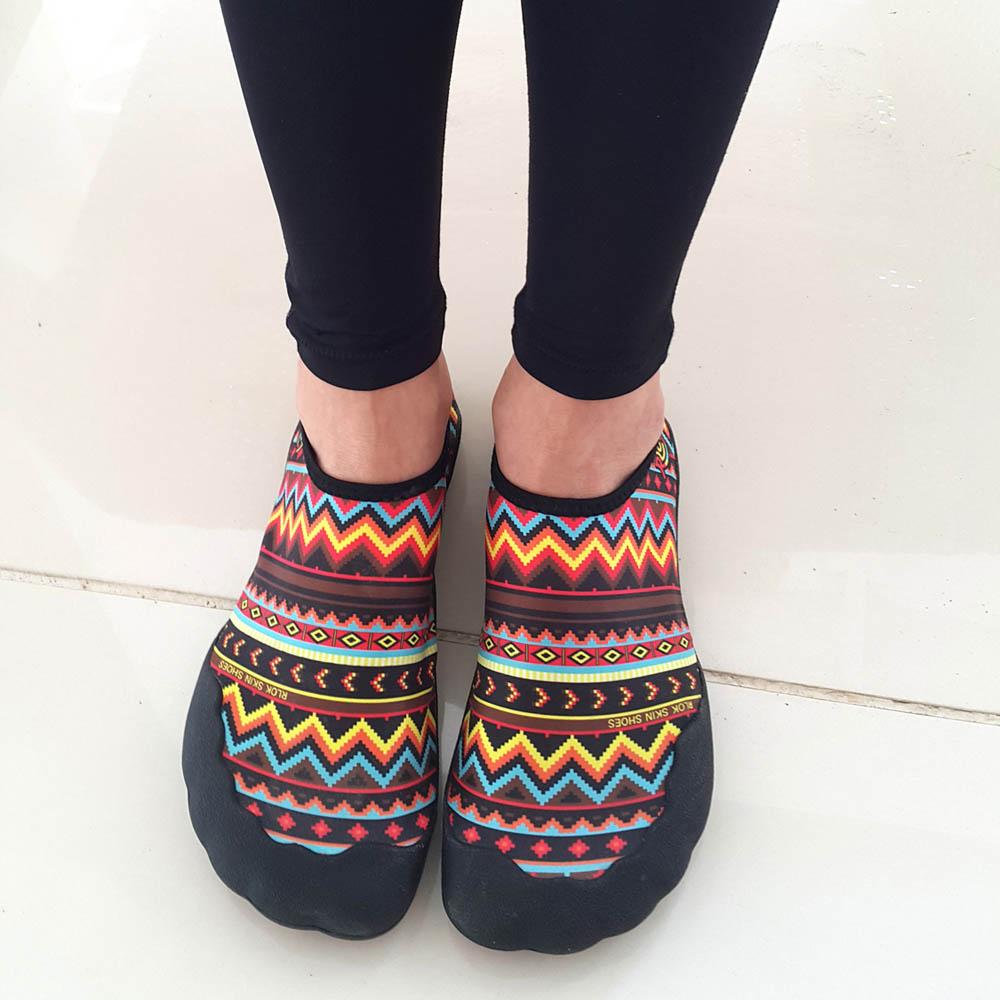 RLOK │SKINSHOES 3.0 厚底赤足鞋 民族紅