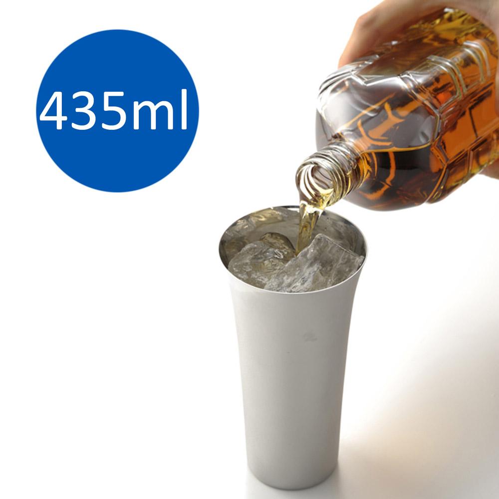 Migakiya│日本 手工研磨 啤酒長杯 435ml  2入