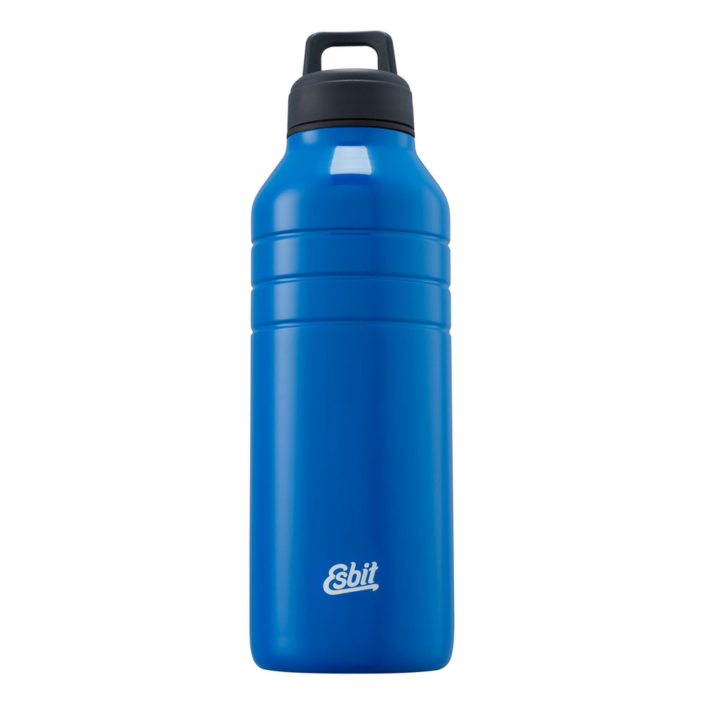 Esbit│鋼硬系列不鏽鋼水瓶 藍色 1000ml