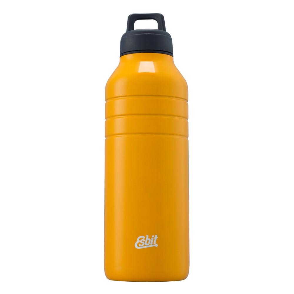 Esbit│鋼硬系列不鏽鋼水瓶 黃色 1000ml