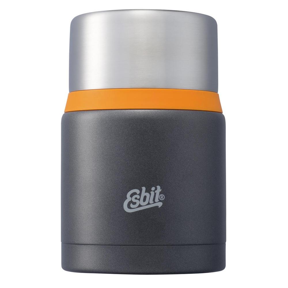 Esbit│不鏽鋼 真空食物保鮮罐 750ml 深灰