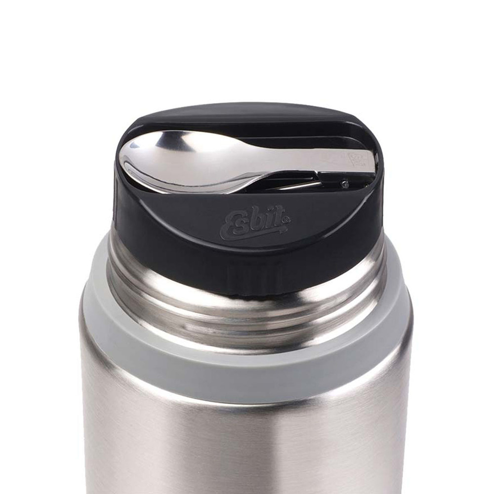 Esbit│不鏽鋼 真空食物保鮮罐 750ml 消光銀