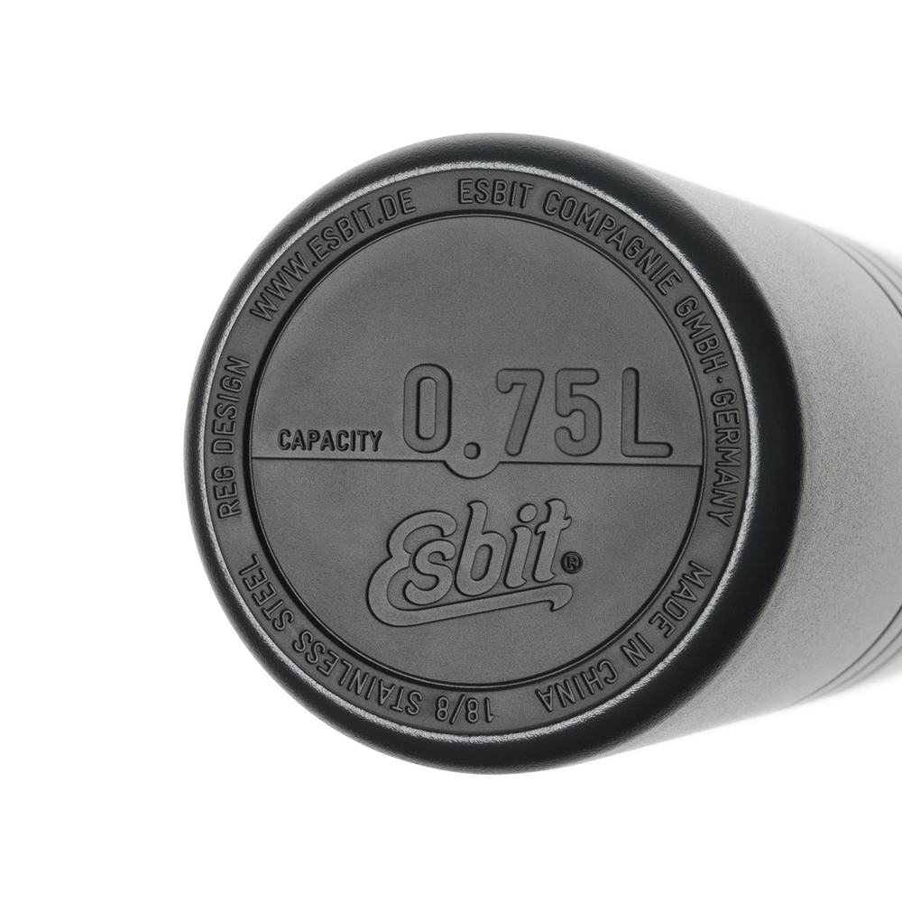 Esbit│鋼硬系列 不鏽鋼真空瓶 750ml