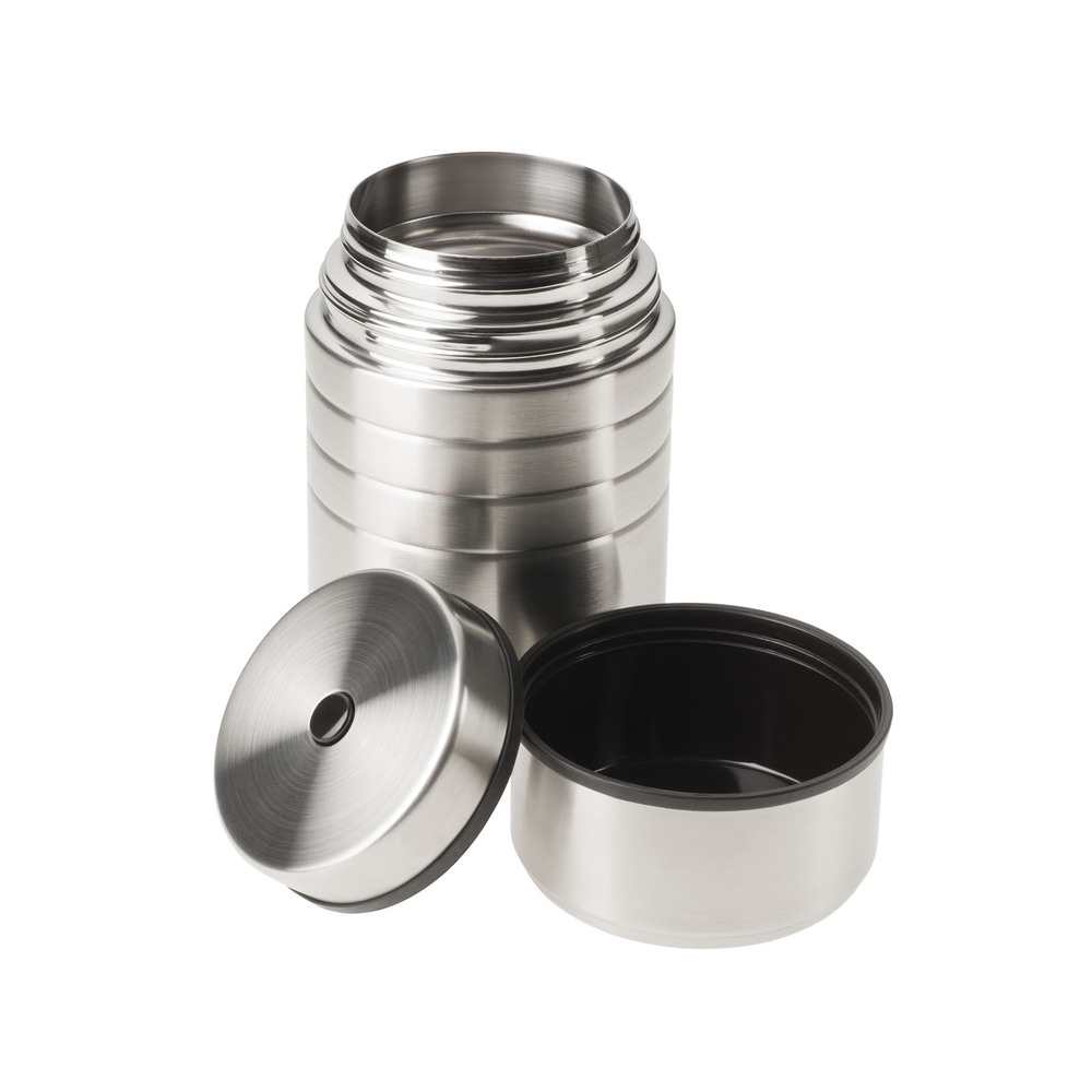 Esbit│鋼硬系列 真空食物保鮮罐 600ml 銀色