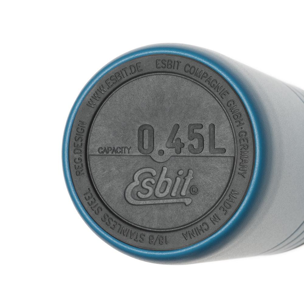 Esbit│鋼硬系列 廣口真空瓶 450ml 天空藍