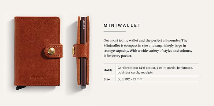 (複製)荷蘭 SECRID|RFID安全防盜錄Slimwallet Original經典真皮卡夾 - 原黑