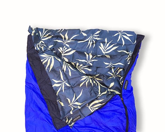 奧地利 COCOON|舒適睡眠 輕量天然純棉兒童/嬌小成人款旅行床單-卡其