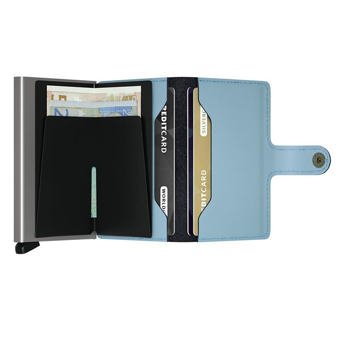 (複製)荷蘭 SECRID|RFID安全防盜錄 Miniwallet Original 經典真皮卡夾 - 酒紅