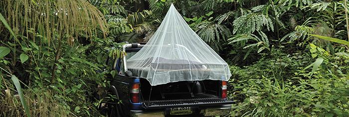 奧地利 COCOON|戶外露營旅遊防蟲蚊帳-單人-綠