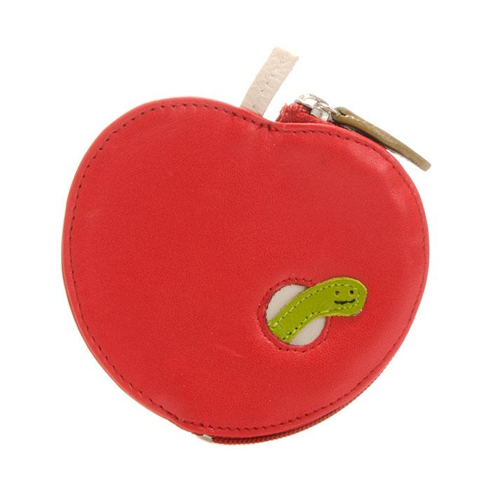 (複製)義大利 mywalit 繽紛配色真皮革 造型鑰匙小零錢包 -橘子